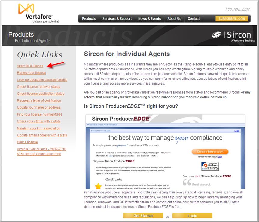 Insurance License Sircon Insurance License