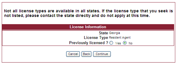 licensing service